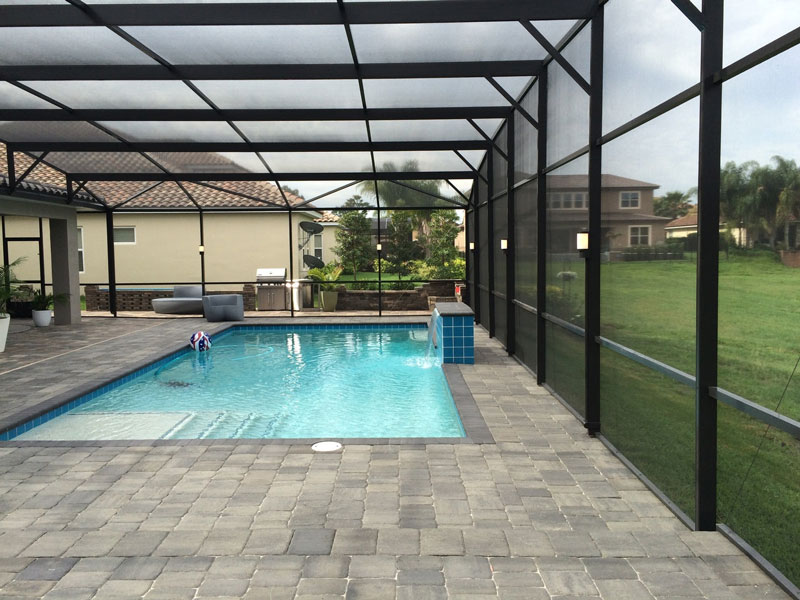patio pool dock led lighting in