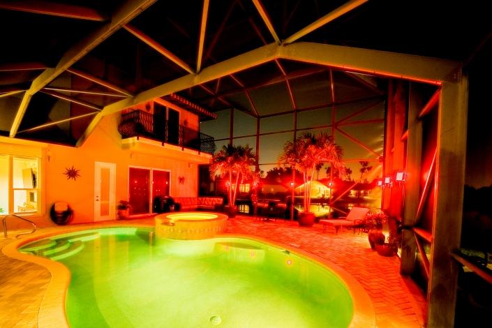 Lanai Lights in Florida