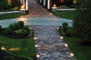 Brick Edging Lights