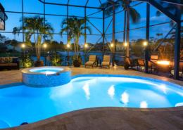 Pool Cage LED Lights